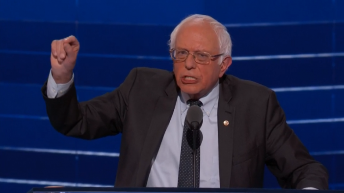 "Sanders to Delegates:  ""I Look Forward to Your Votes During the Roll Call Vote Tomorrow Night"""