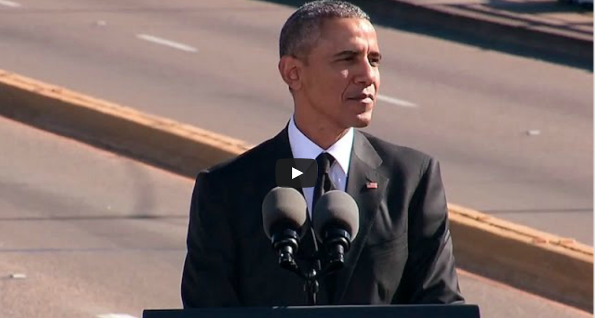 Obama Selma AL 2015