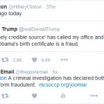Exclusive:  Clinton Campaign Raises Obama Birth Certificate Issue