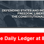 JB on the Daily Ledger Show Tonight 8:00 PM ET