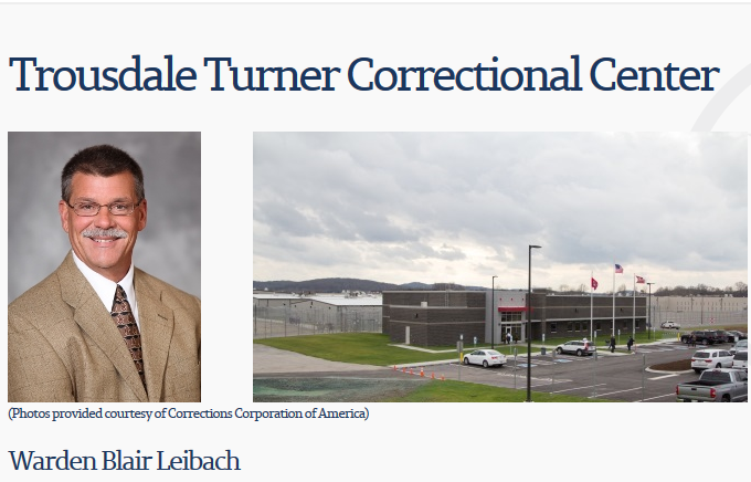 Report:  Another Inmate Death at Trousdale County Correctional Center