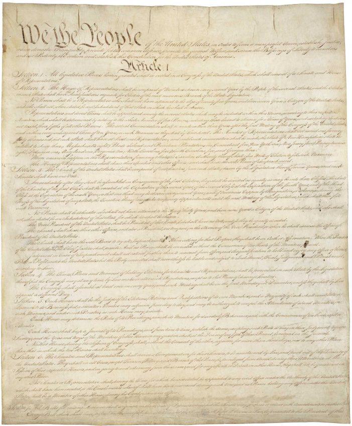 Constitution Class, 8/27/16