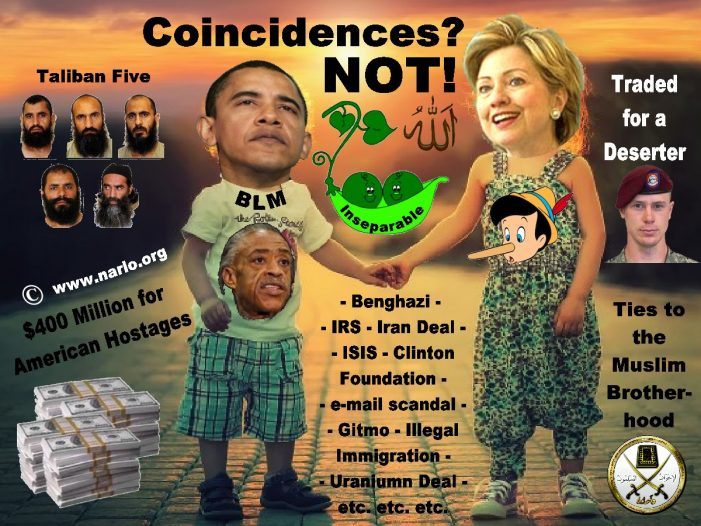 "The Clinton-Obama-Democrat ""Coincidences"" Never Stop!"