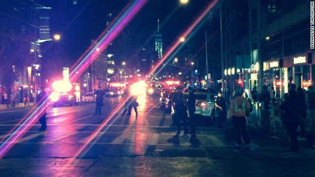 Developing:  Explosion in Manhattan Injures at Least 26