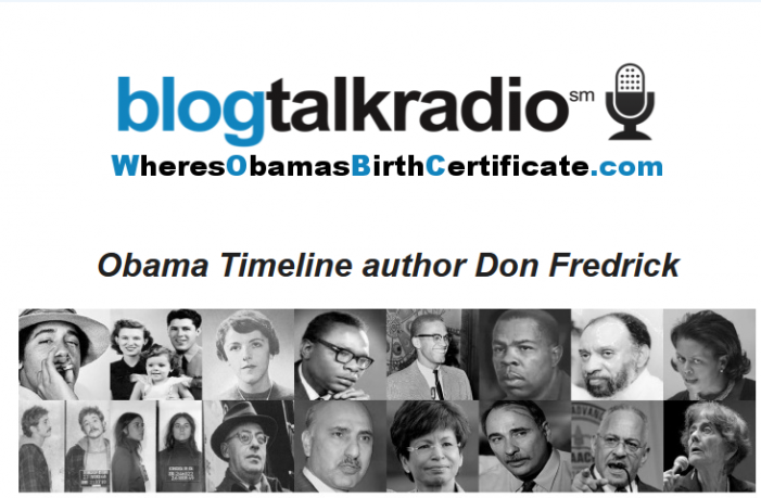 Don Fredrick Discusses Obama's Mysterious Past