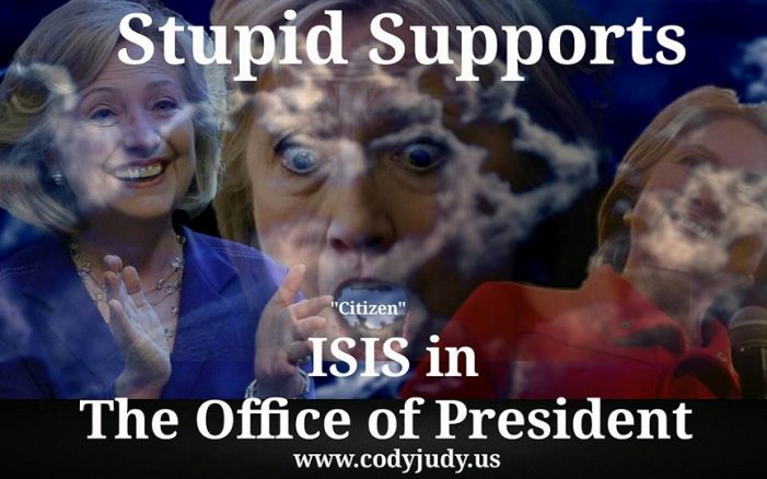 Stupid Supports ISIS in the Office of President