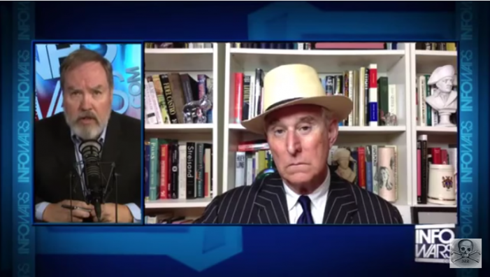 """Roger Stone on Alex Jones:  Assange Has """"All of the Emails"""" From Clinton's Private Server"""