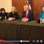 Trump Holds Press Availability with Clinton Accusers Prior to Sunday's Debate
