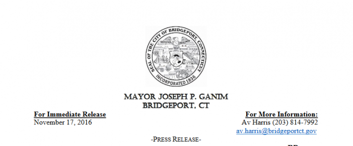 City of Bridgeport to Host the 23rd Annual Thanksgiving Basket Brigade Saturday