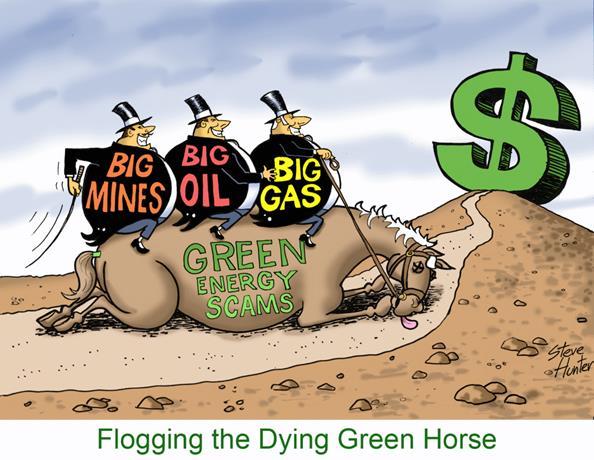 Why Big Mining Loves Big Green