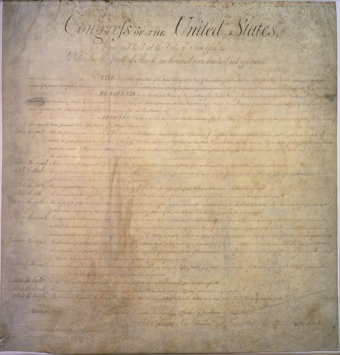 Tennessee Group to Celebrate Bill of Rights Day December 15