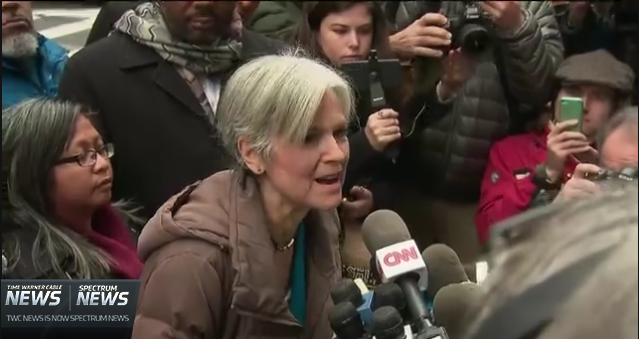 "Stein Press Conference Claims ""Undervote,"" Disenfranchisement in Recount States"