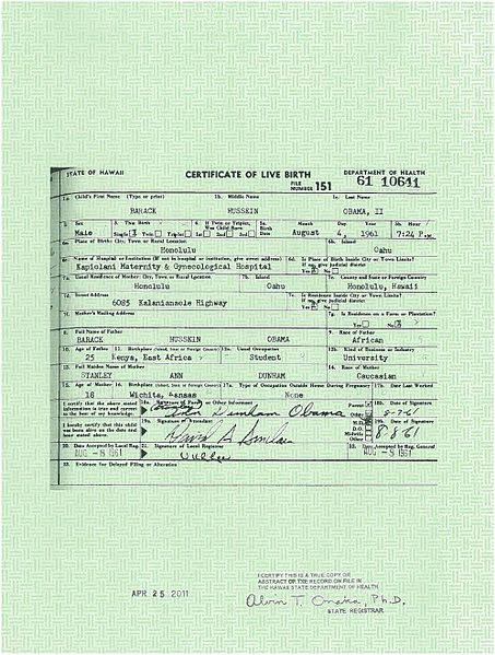 "Jeff Harrison:  Obama Birth Certificate Questions ""Beyond Comprehension"""