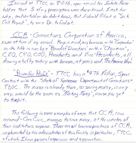 TTCC CONDITIONS LETTER P 1 SNIP