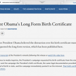 The Associated Press Misrepresents Again on Obama Birth Certificate