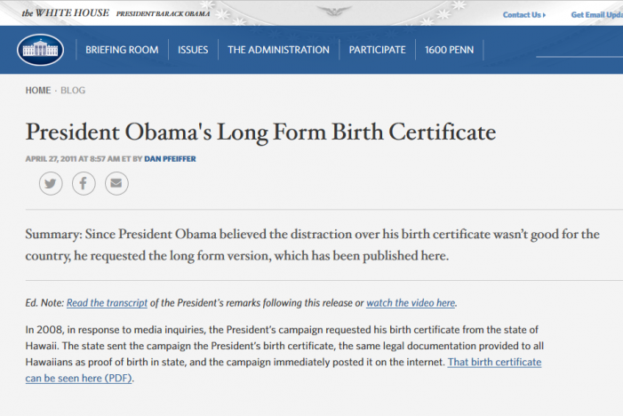 Zullo Provides New Insights on Obama Birth Certificate Mystery, Part 3