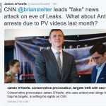 "James O'Keefe Accuses CNN of ""Fake News Attack"""