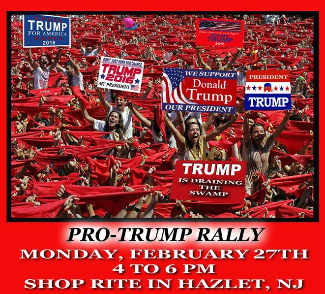 Update:  Pro-Trump Rally in Support of President Trump