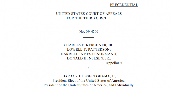"Judge on Trump's ""Short List"" for U.S. Supreme Court Labeled Obama Eligibility Case ""Frivolous"""