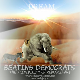 Beating Democrats: The Flexibility of Republicans