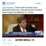 Judge Napolitano Stands By His Sources