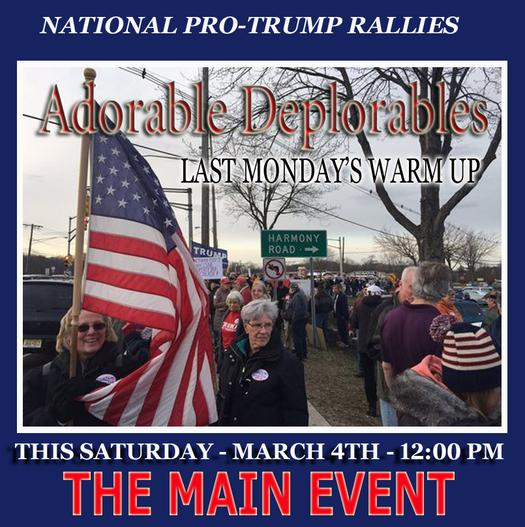 National Rally in Support of President Trump