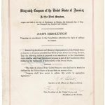 Did the 19th Amendment Create a Two-Parent Citizenship Requirement for natural born Citizens?