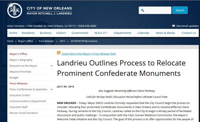 Dynamiting Palmyra and Removing Confederate Statues (RR)