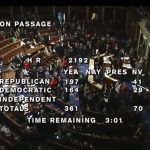 U.S. House Voting on Three Measures Thursday Afternoon
