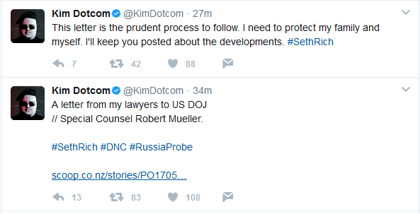 Breaking:  Dotcom's Attorneys Publish Letter to Special Counsel Mueller