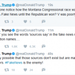 "Trump:  ""Fake News is the Enemy"""