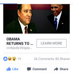 Facebook Ad About Obama's Alleged Usurpation Shut Down
