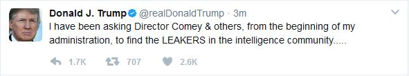 Trump Hints at Why Comey was Fired