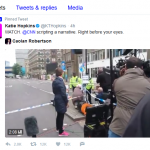 """Did the """"Media"""" """"Stage"""" a Gathering of Alleged Muslims in London?"""