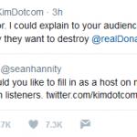 Will Kim Dotcom Host Sean Hannity's Radio Show?