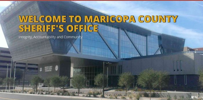 "What Happened to the ""Maricopa County"" Sheriff?"