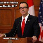 An Open Letter To Treasury Secretary Steven Mnuchin