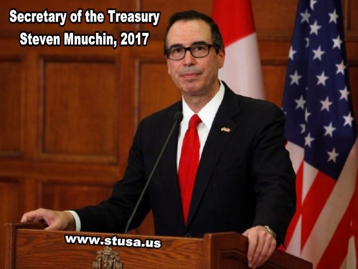 An Open Letter To Treasury Secretary Steven Mnuchin