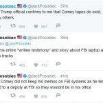 Does Trump Have Recordings of Conversations with Comey?