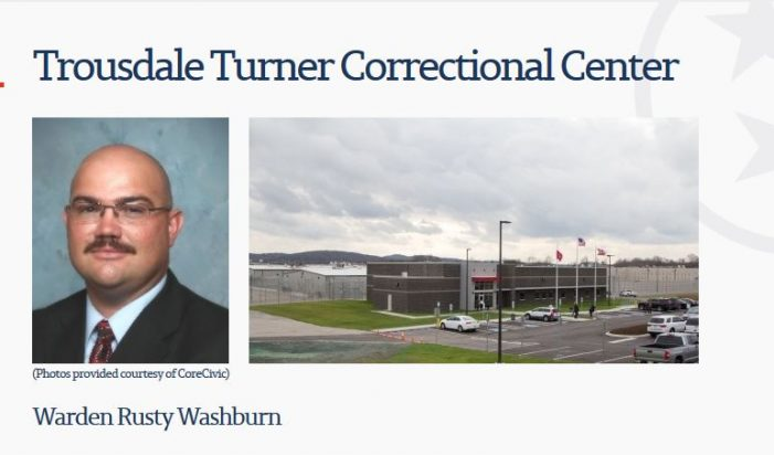 Another Inmate Fears for His Life at Trousdale Turner