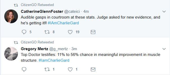 Breaking Developments in Charlie Gard Hearing