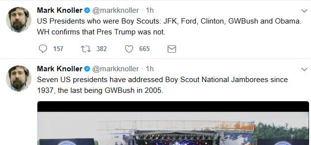 When Was Obama a Boy Scout…