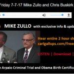 Mike Zullo Provides Update on Arpaio Trial, Obama Birth Certificate Investigation