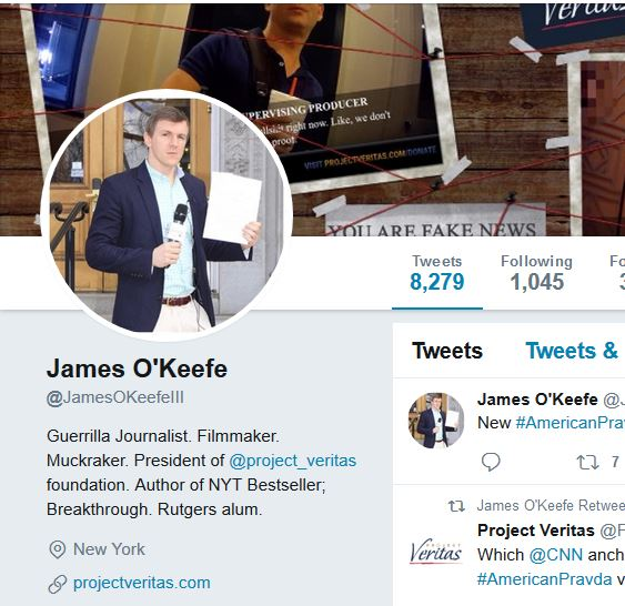 New O'Keefe Video Coming Wednesday Afternoon