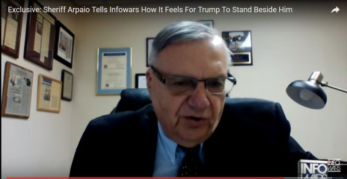 Former Sheriff Joe Arpaio Speaks with Alex Jones on Criminal Conviction, Possible Pardon, Support of Trump