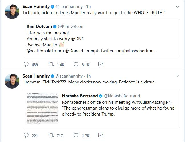 What Are Hannity and Dotcom Hinting At?