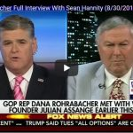 "Hannity Mentions ""Kim Dotcom"" in Interview with Rohrabacher on Assange Information"