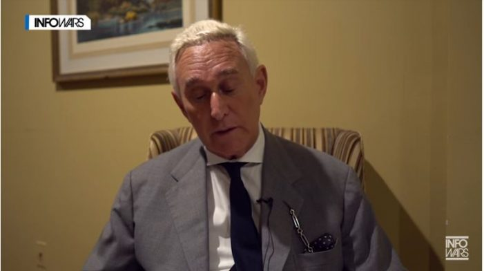 Roger Stone Appears with Tucker Carlson Wednesday
