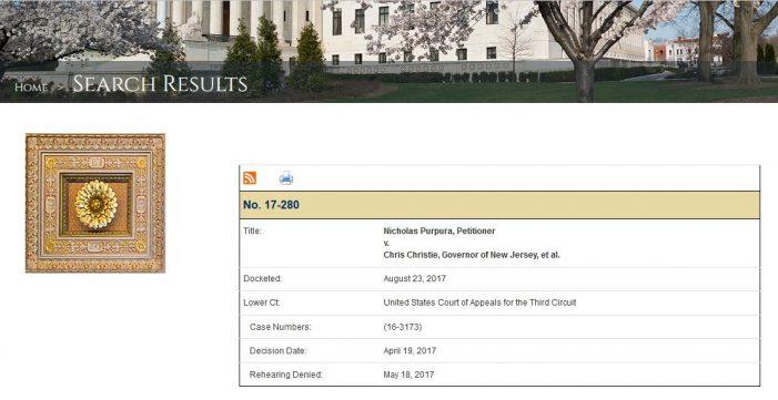 "Pro Se Litigant's ""Federalism,"" Second Amendment Case Reaches U.S. Supreme Court"