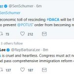 "Dems Say They'll ""Fight"" Trump on DACA Decision"